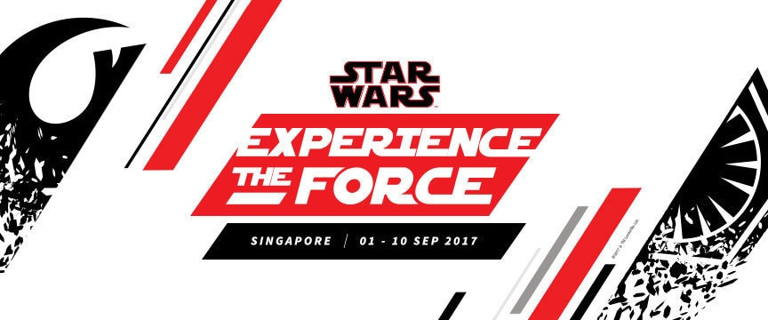 Star Wars: Experience the Force Singapore - 01 to 10 Sep