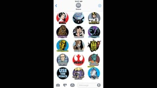 Star Wars: 40th Anniversary Stickers Gallery