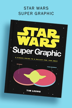 Star Wars Books - Super Graphic Visual
