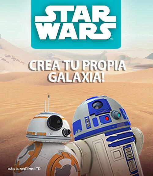 ¡Aprende a programar con Star Wars y crea tu propia galaxia!