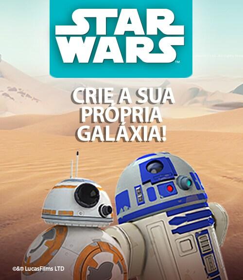 Aprenda a programar com Star Wars e crie a sua própia galáxia