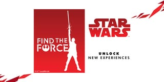 Find the Force Augmented Reality Experience / 10.00am - 10.00pm