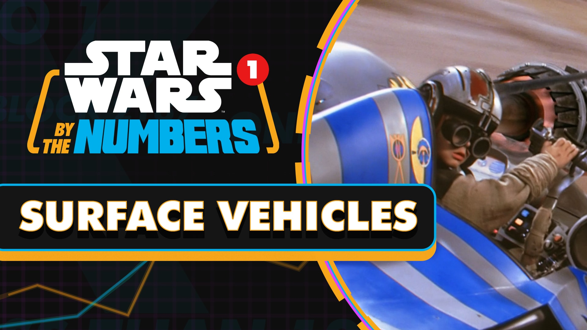 Every Surface Vehicle in Star Wars Movies | Star Wars By the Numbers