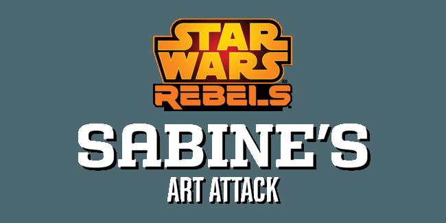 Star Wars Rebels: Sabine's Art Attack