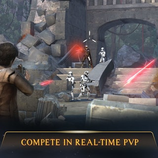 STAR WARS: RIVALS: THE FIRST REAL-TIME STAR WARS COMPETITIVE ACTION SHOOTER FOR MOBILE