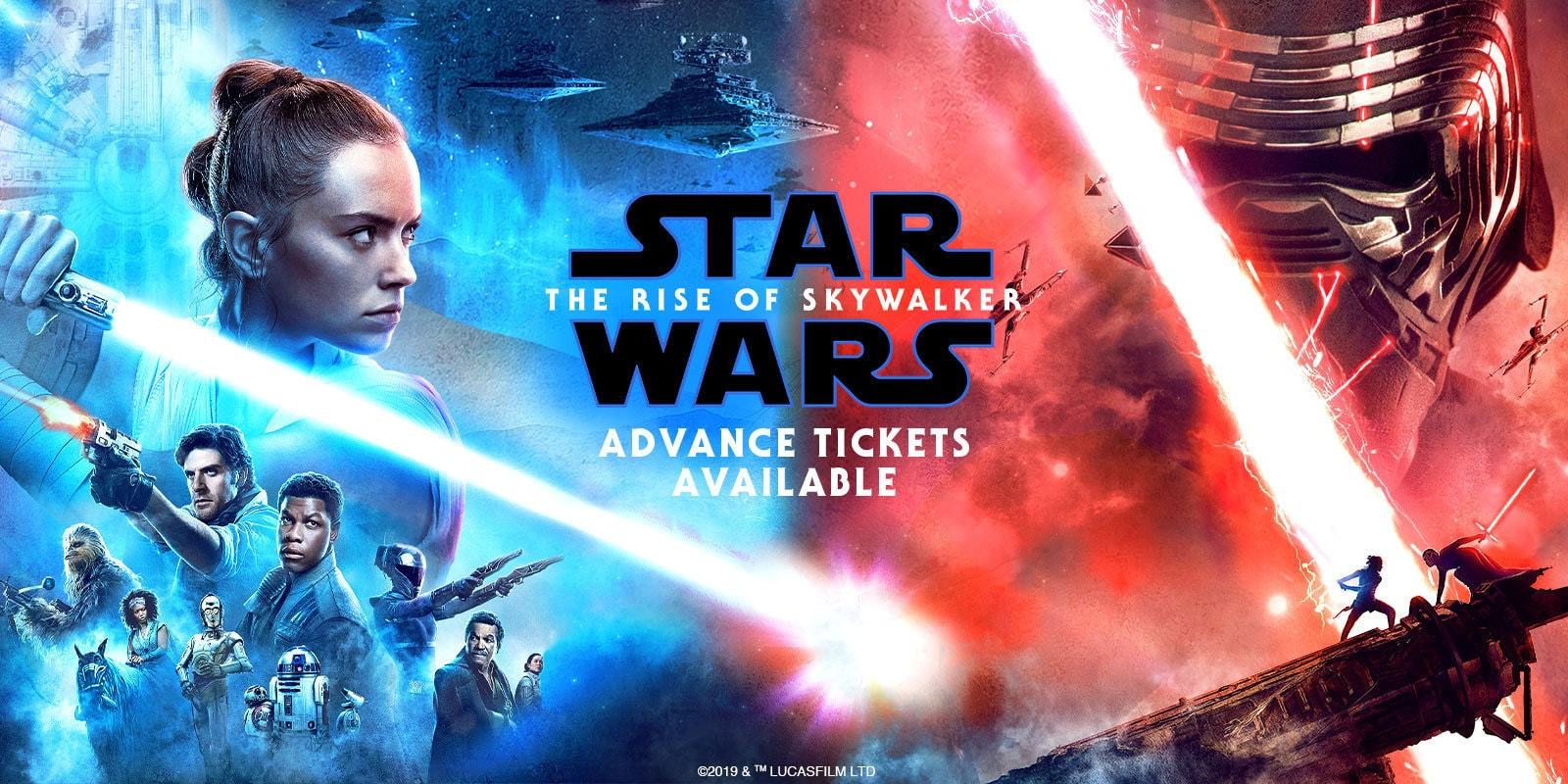 Star Wars Episode IX: The Rise of Luke Skywalker - Banner Hero Object for ATS