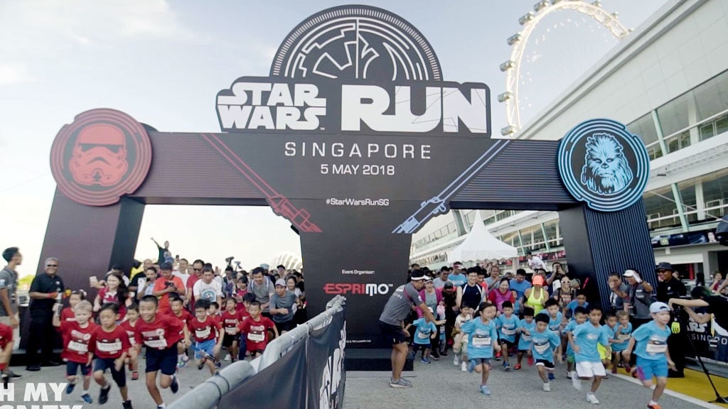 Disney Insider - STAR WARS™ RUN Singapore 2018 Event Coverage