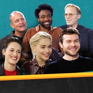 Hanging with the Cast of Solo to Talk New Action Figures, Flip Phones, and How to Speak Like Chewie