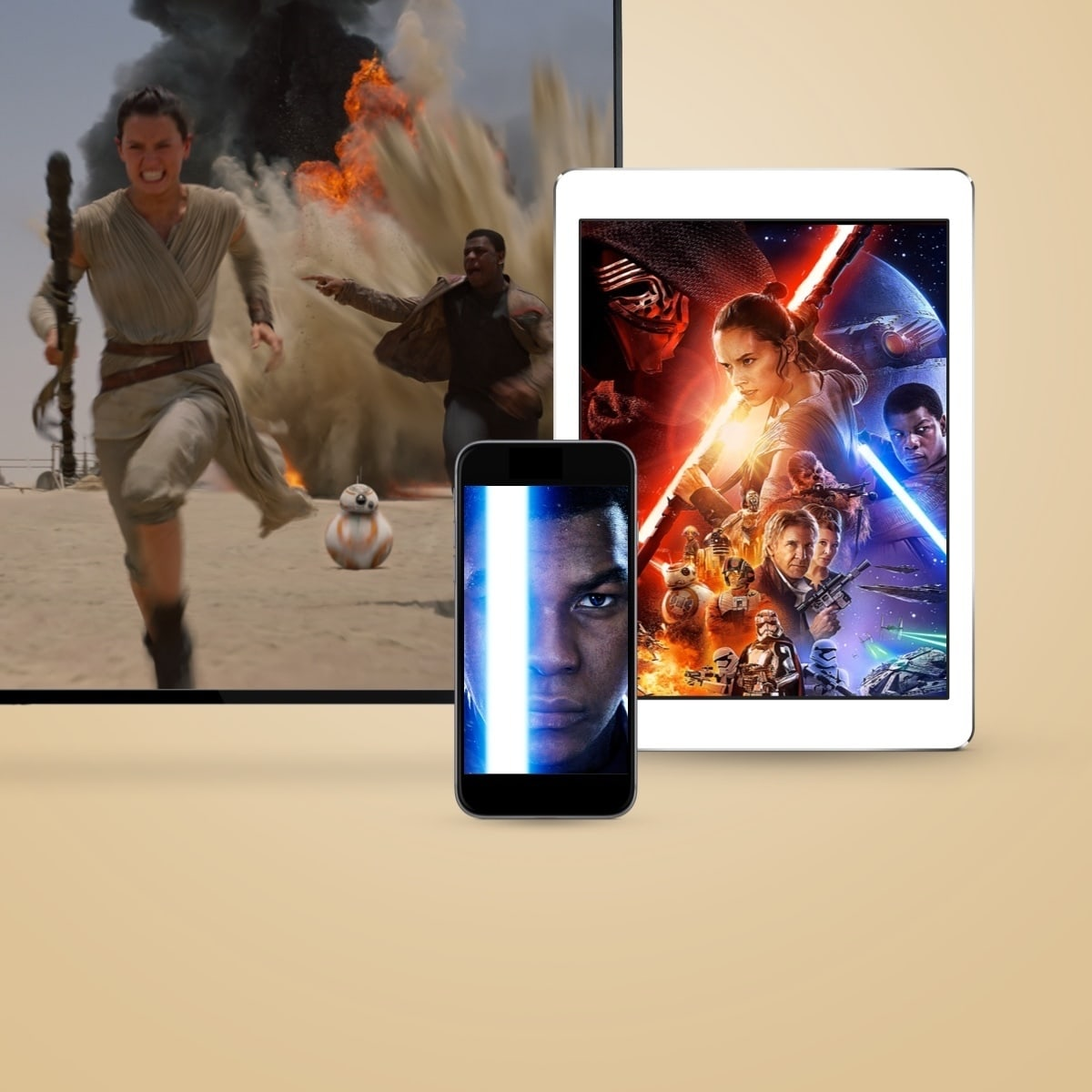 Star Wars: The Force Awakens | Buy the movie today