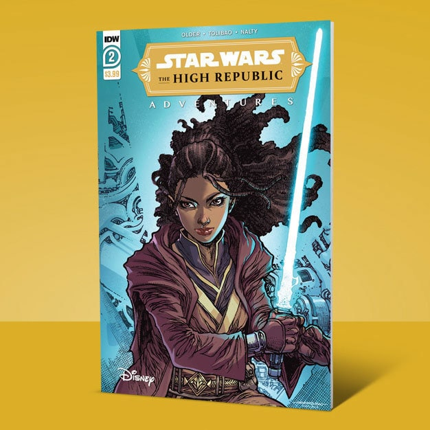 The High Republic Adventures #2 cover