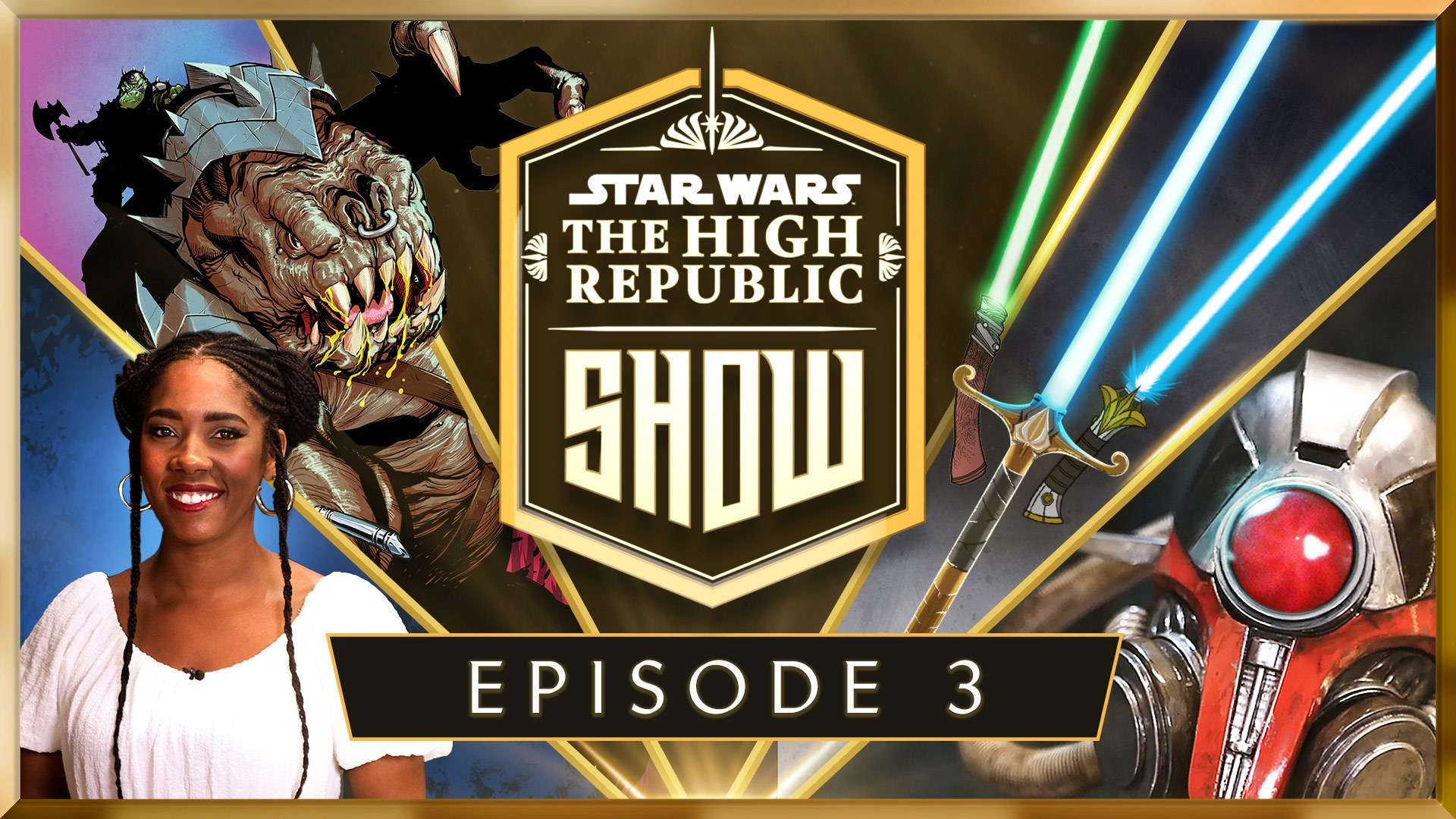 New High Republic Comic Revealed, Lightsabers from the Prime of the Jedi, and More!