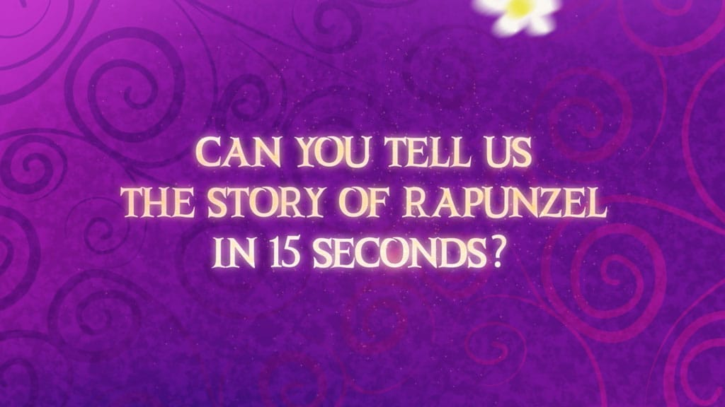 Tangled Before Ever After | Rapunzel in 15 seconds! – Disney Channel Asia