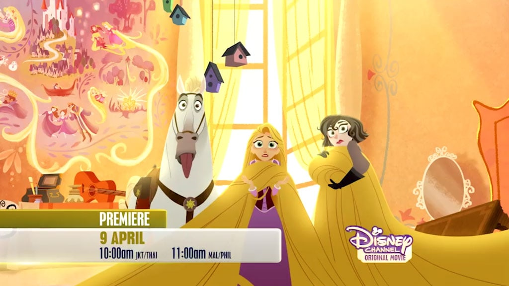 Tangled Before Ever After | Things Get Hairy (Trailer) – Disney Channel Asia