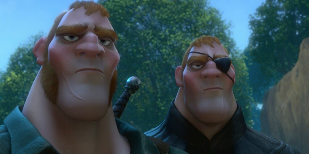 "The Stabbington Brothers in ""Tangled"""