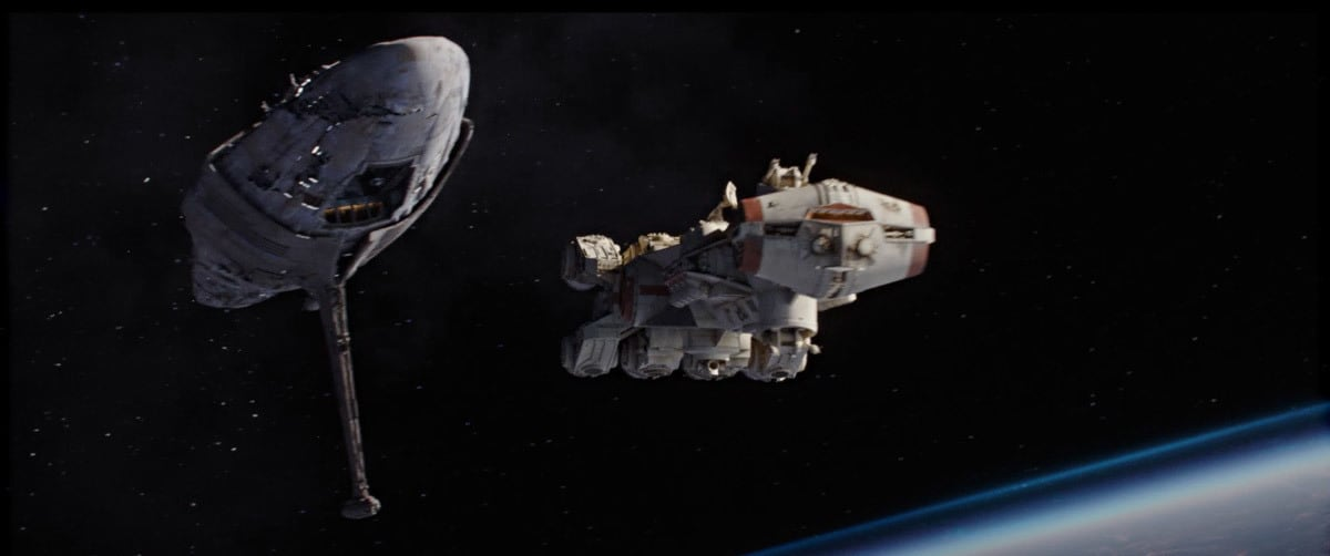 The Tantive IV escaping the Battle of Scarriff
