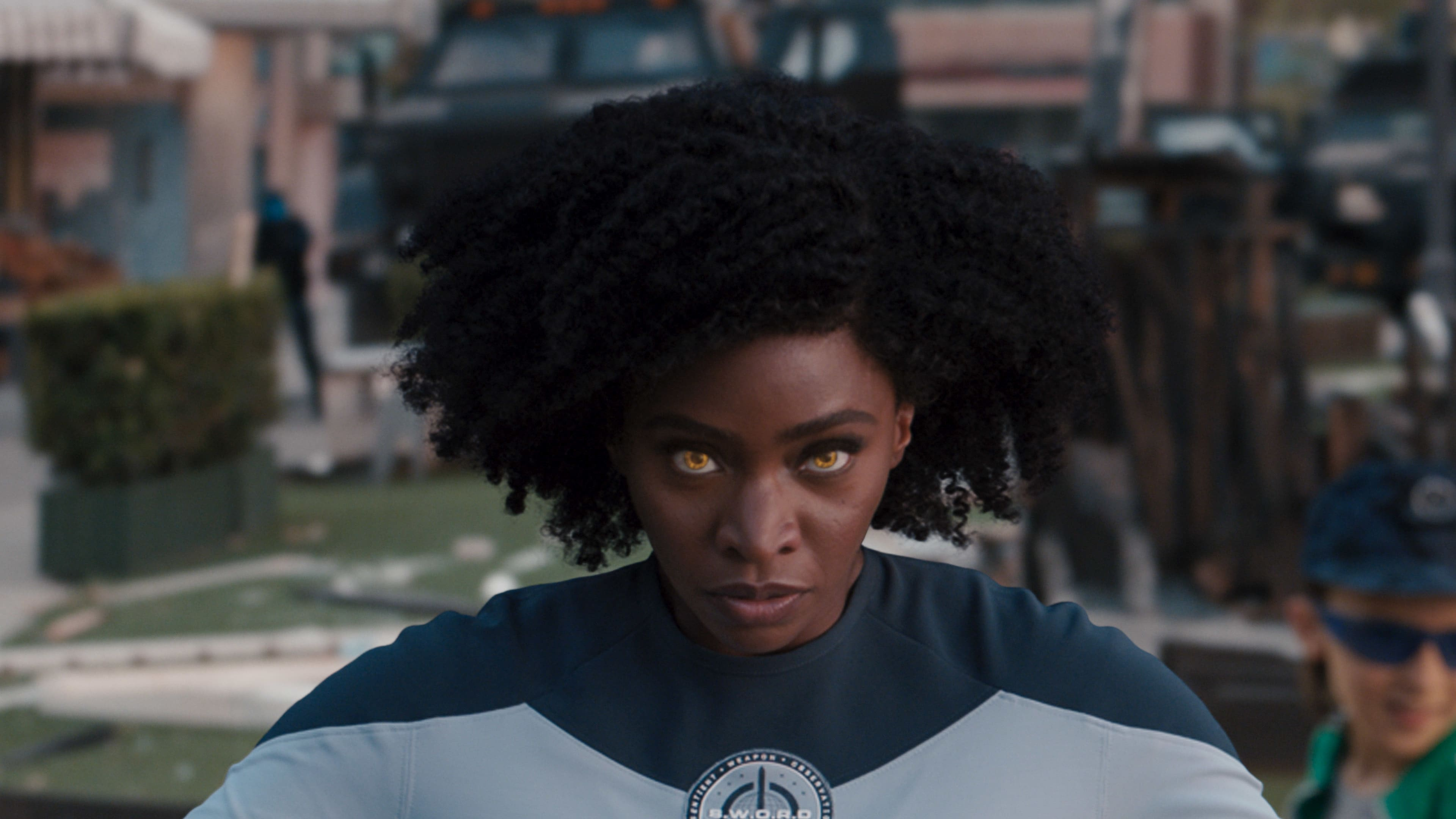 Teyonah Parris as Monica Rambeau in Marvel Studios' WANDAVISION exclusively on Disney+. Photo courtesy of Marvel Studios. ©Marvel Studios 2021. All Rights Reserved.
