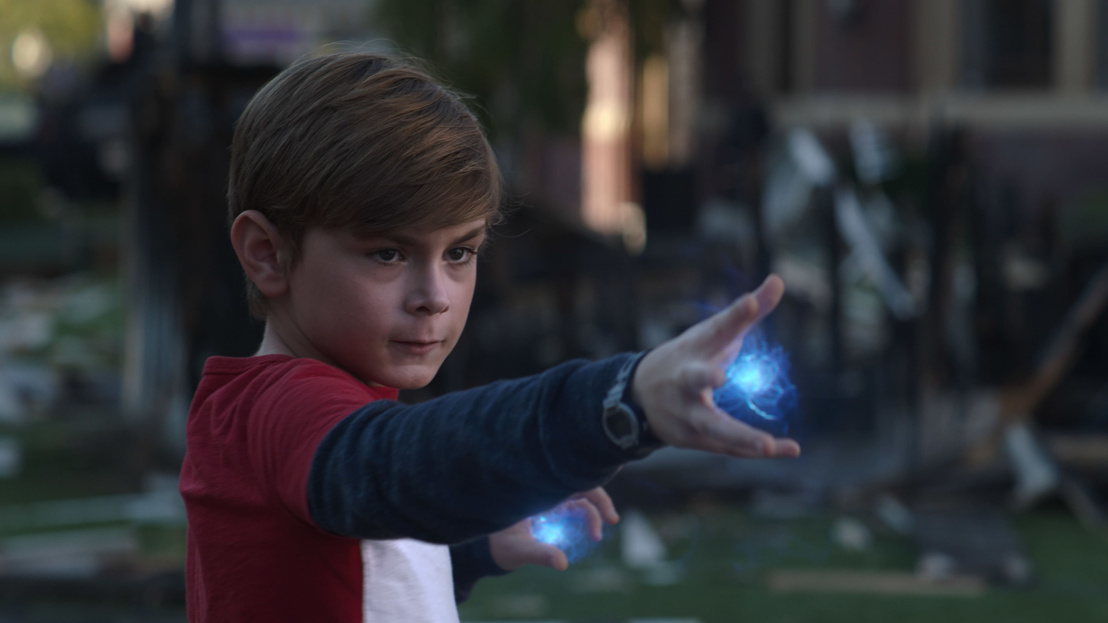 Julian Hilliard as Billy in Marvel Studios' WANDAVISION exclusively on Disney+. Photo courtesy of Marvel Studios. ©Marvel Studios 2021. All Rights Reserved.