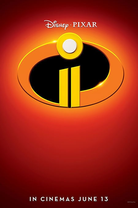 Disney.Pixar: The Incredibles 2