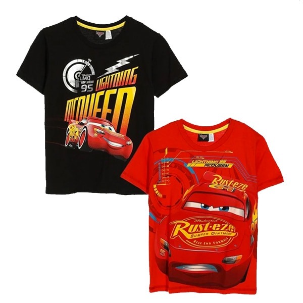 Disney Cars Boys 2-piece Graphic Tee Set