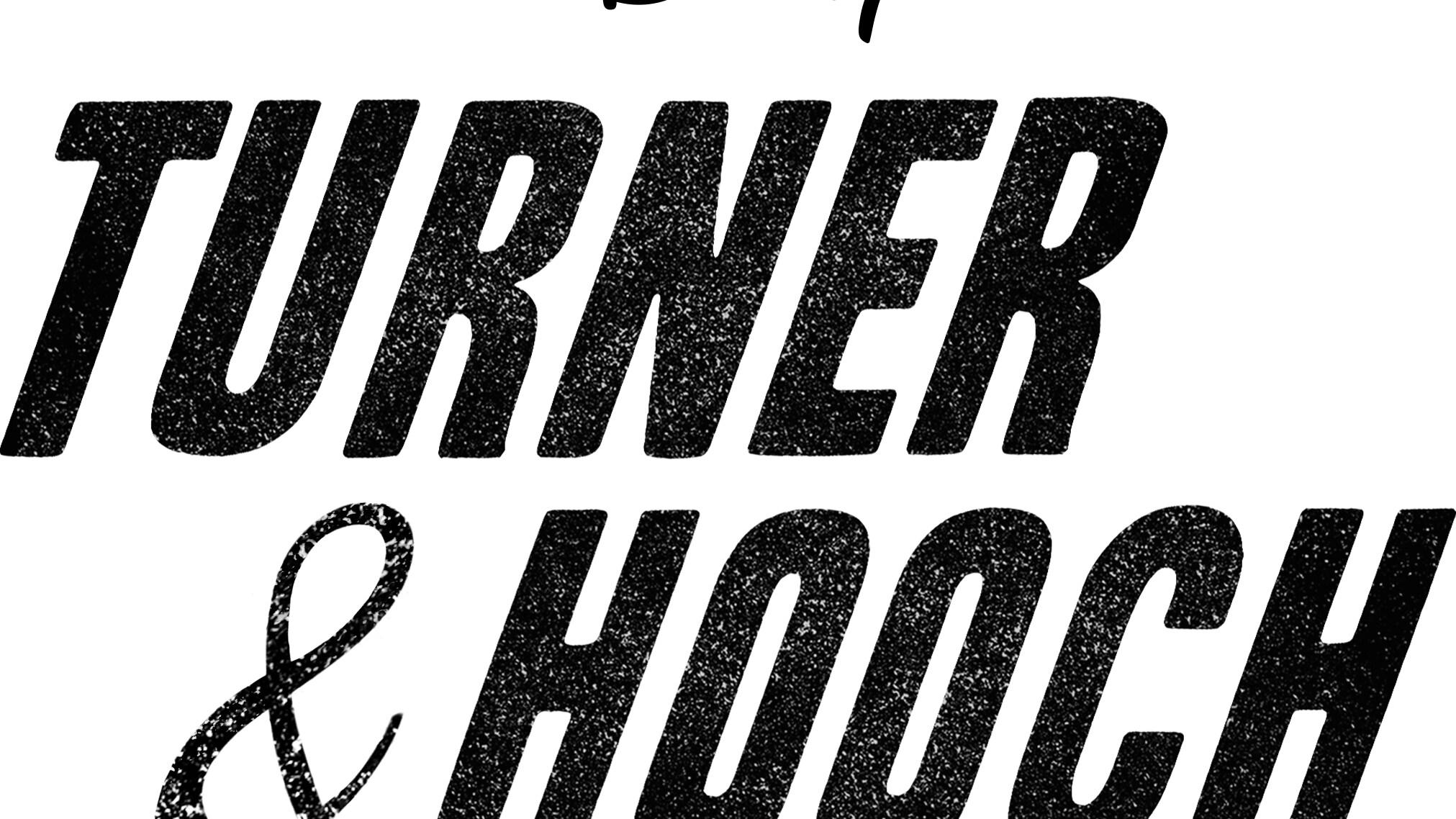 Turner & Hooch Logo - Black