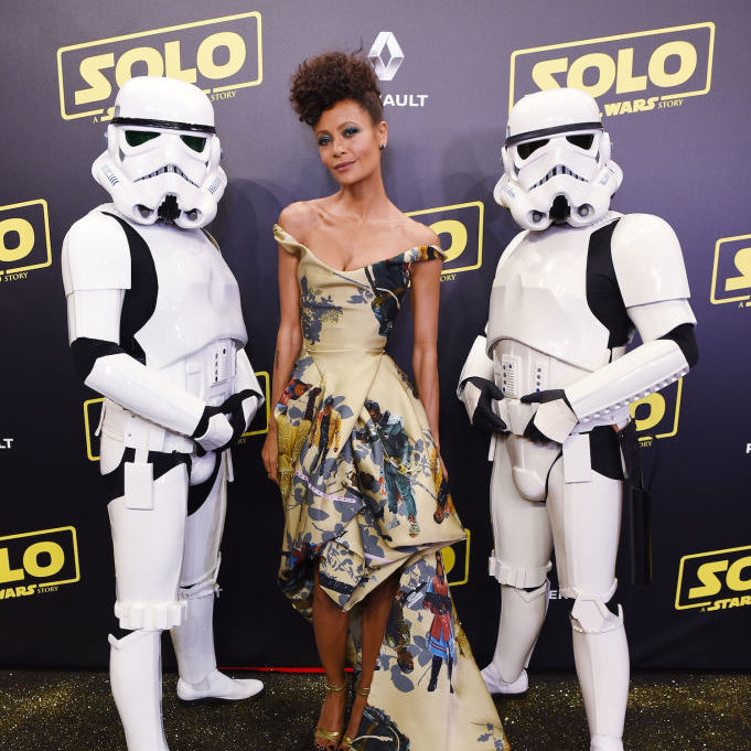 You Have To See Thandie Newton's Star Wars-Themed Dress from the Cannes Film Festival