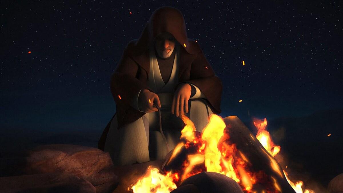 Obi-Wan Kenobi in exile on Tatooine