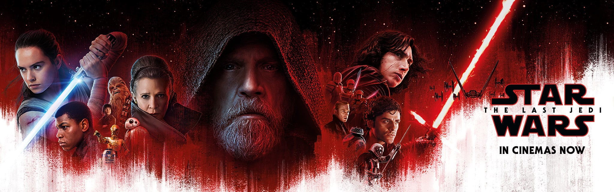Star Wars - The Last Jedi - In Cinemas Now - SEA