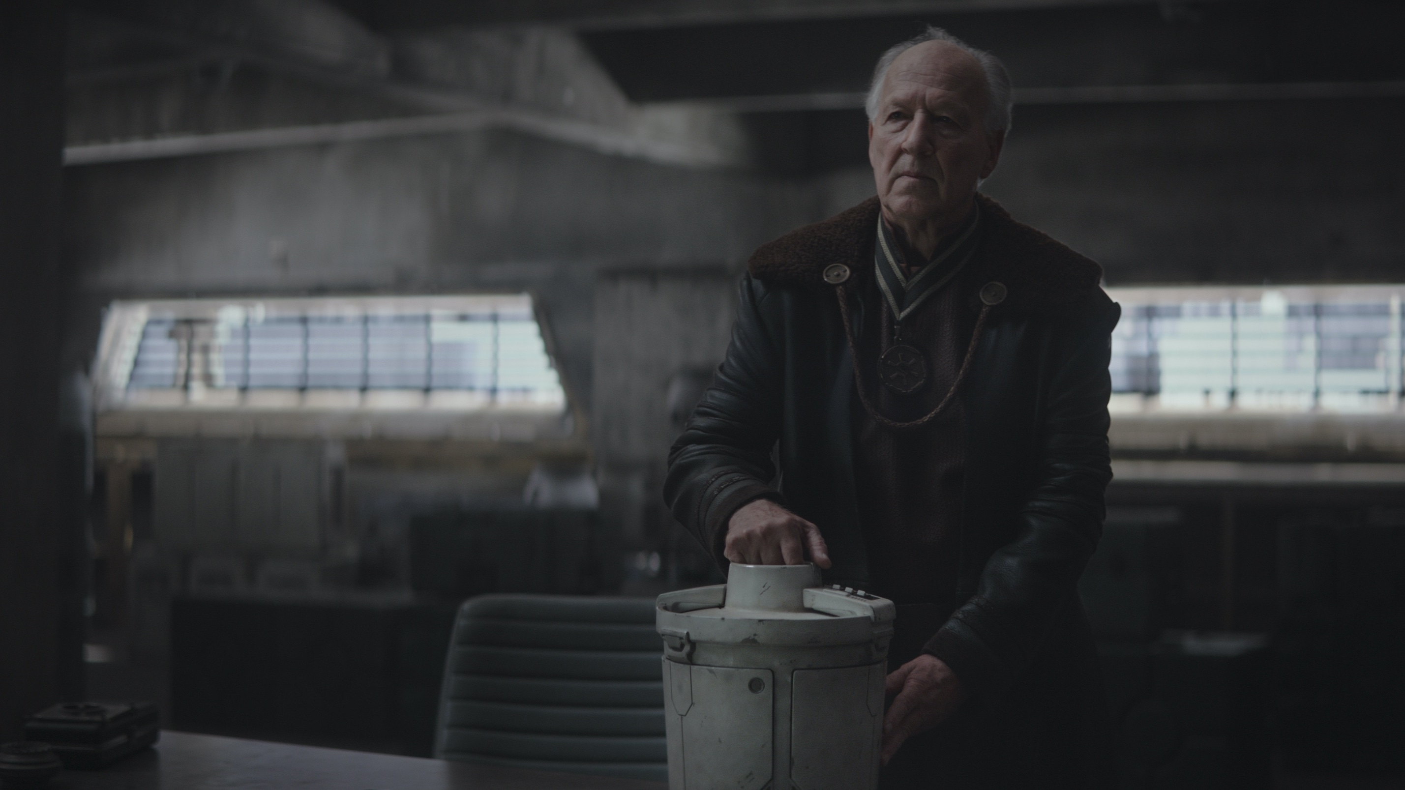 Chapter 3. Werner Herzog is the Client in THE MANDALORIAN, exclusively on Disney+.