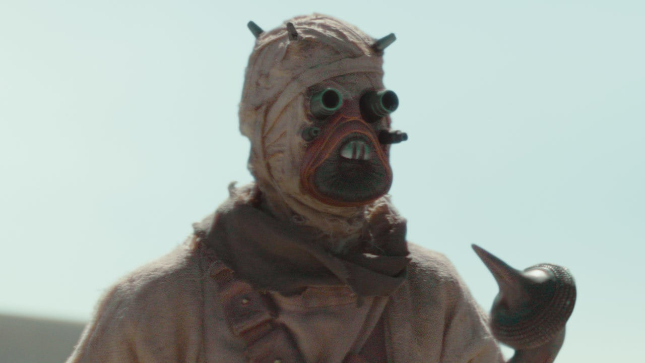 """""""The sand people are the only real locals around here."""" – The Mandalorian"""