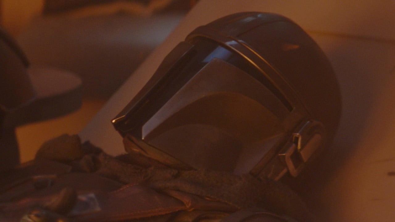 """""""No living thing has seen me without my helmet since I swore the Creed."""" – The Mandalorian"""