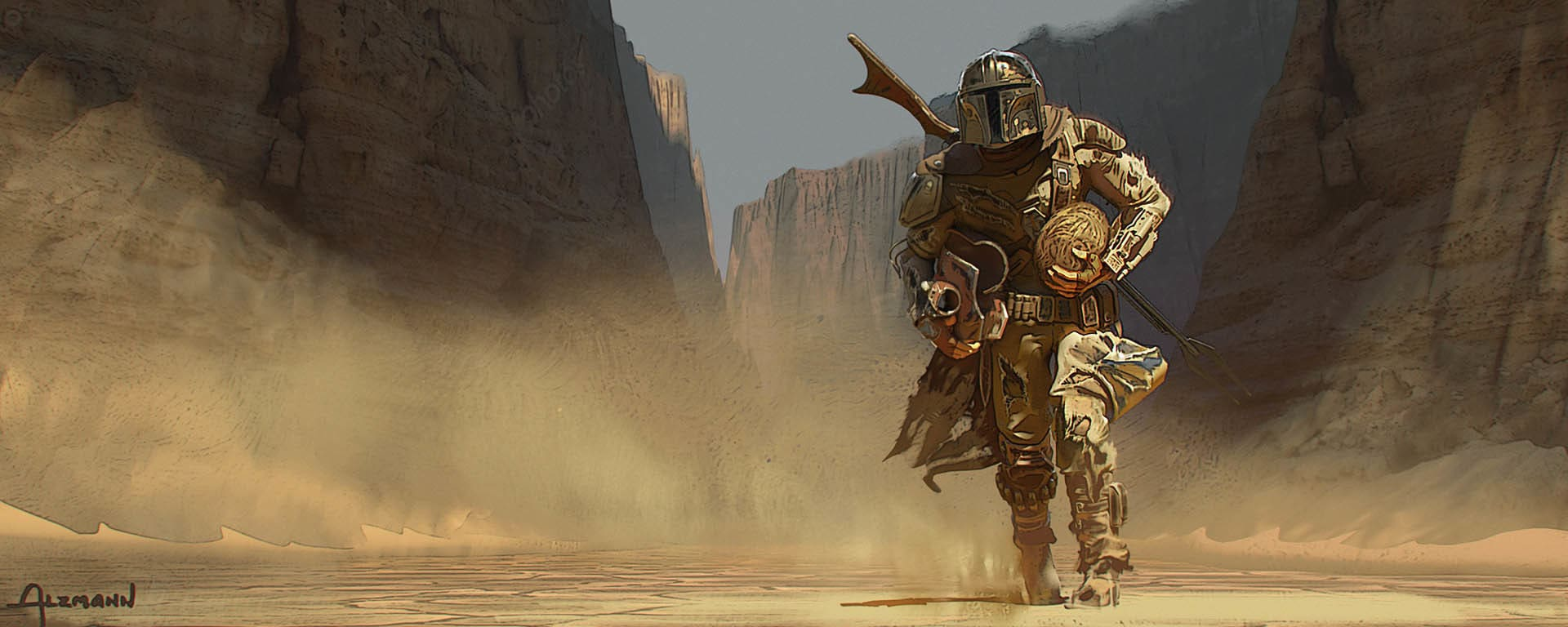 The Mandalorian: Chapter 2 Concept Art Gallery