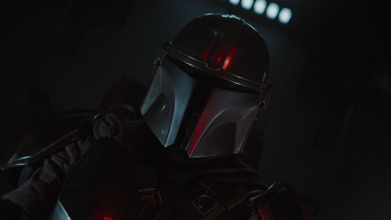 """That's my line."" – The Mandalorian"