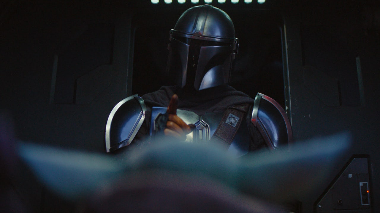 """""""Don't touch anything."""" – The Mandalorian"""