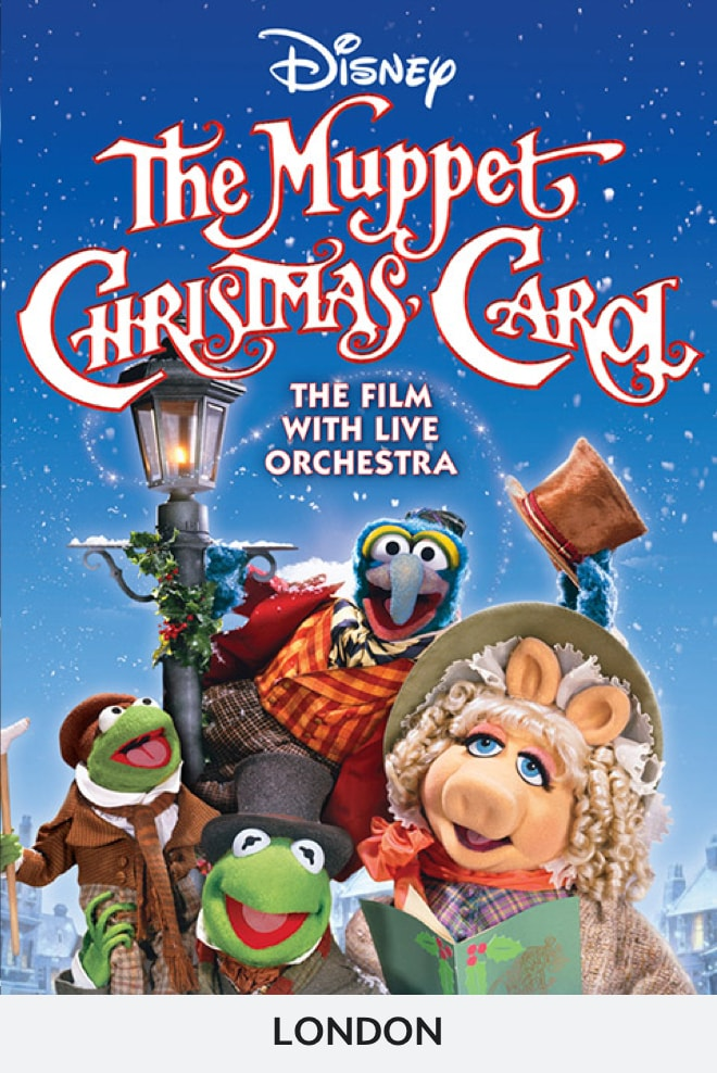 The Muppet Christmas Carol in Concert - London