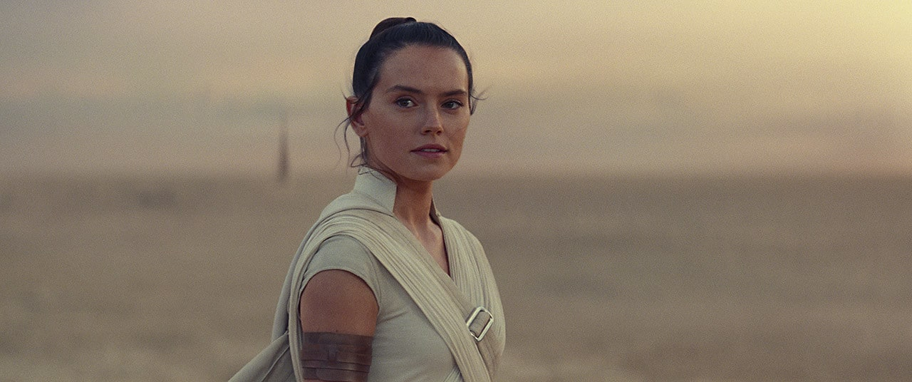 Rey on Tatooine