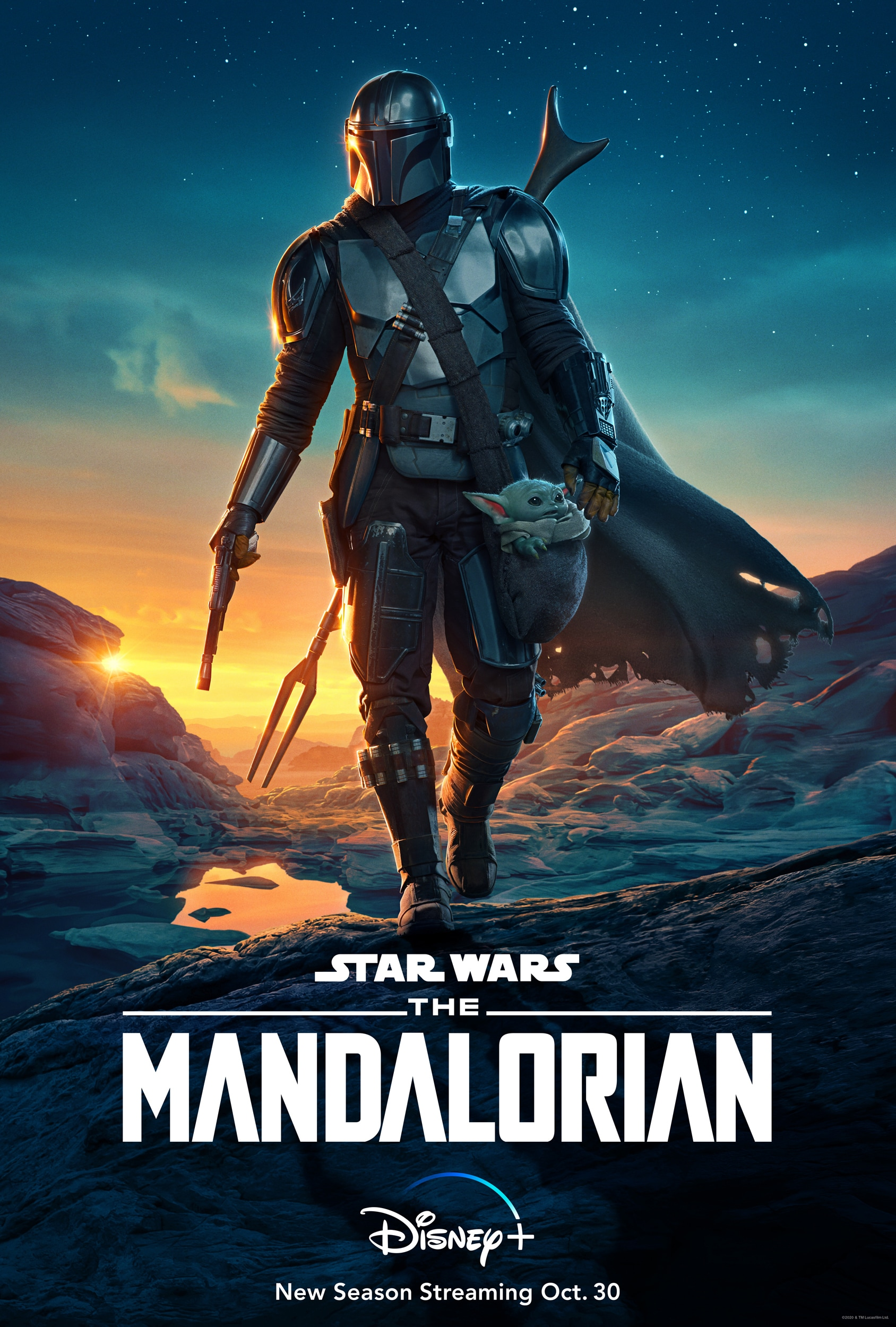 The Mandalorian on Disney+