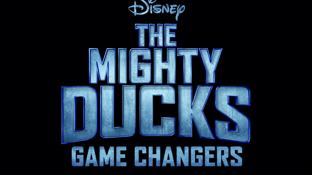 The Mighty Ducks: Game Changers Logo - Vertical