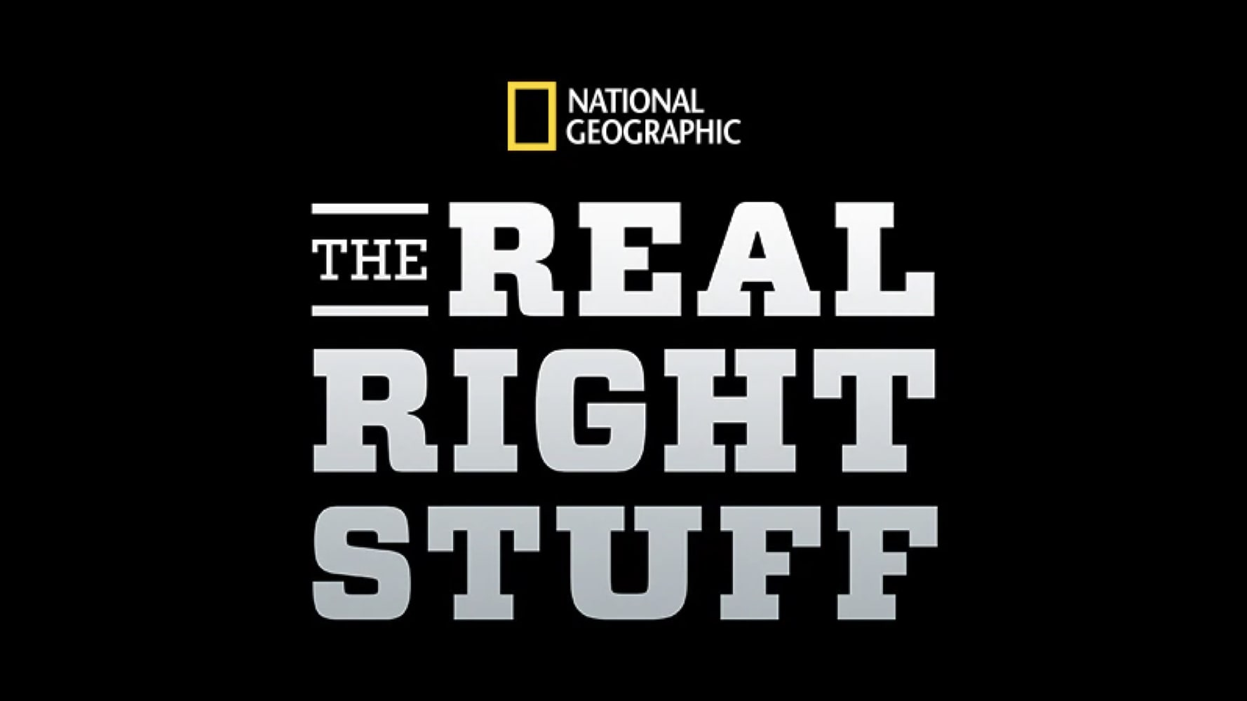 The Real Right Stuff Logo