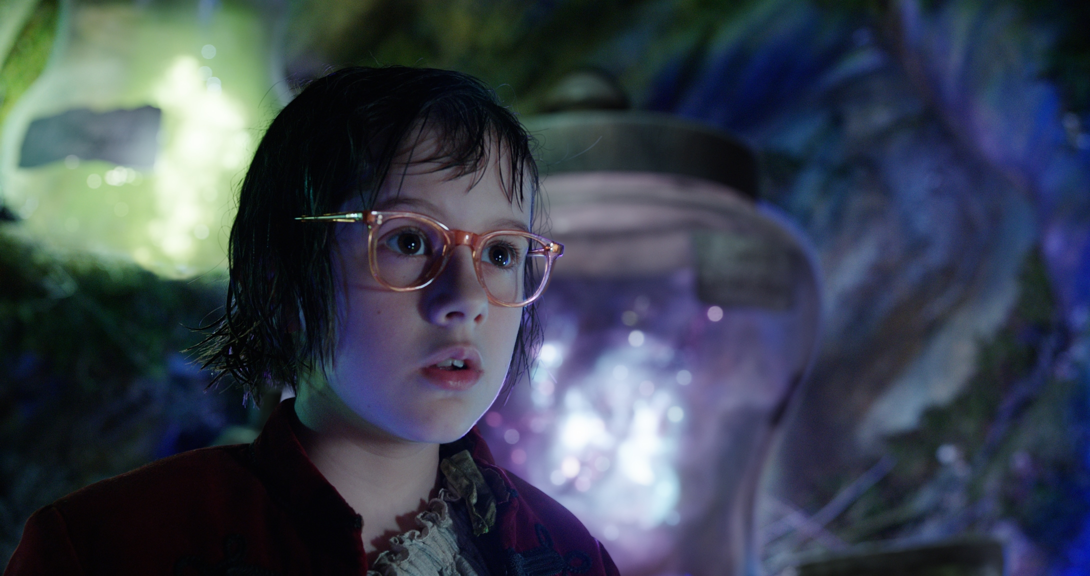 """Sophie, played by actress Ruby Barnhill, in the movie """"The BFG"""""""