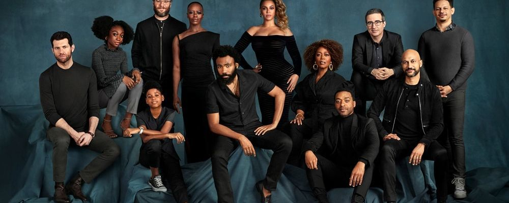 The cast of Lion King