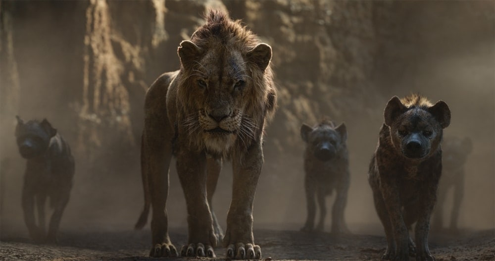 Scar and Hyenas Live action - The Lion King 2019