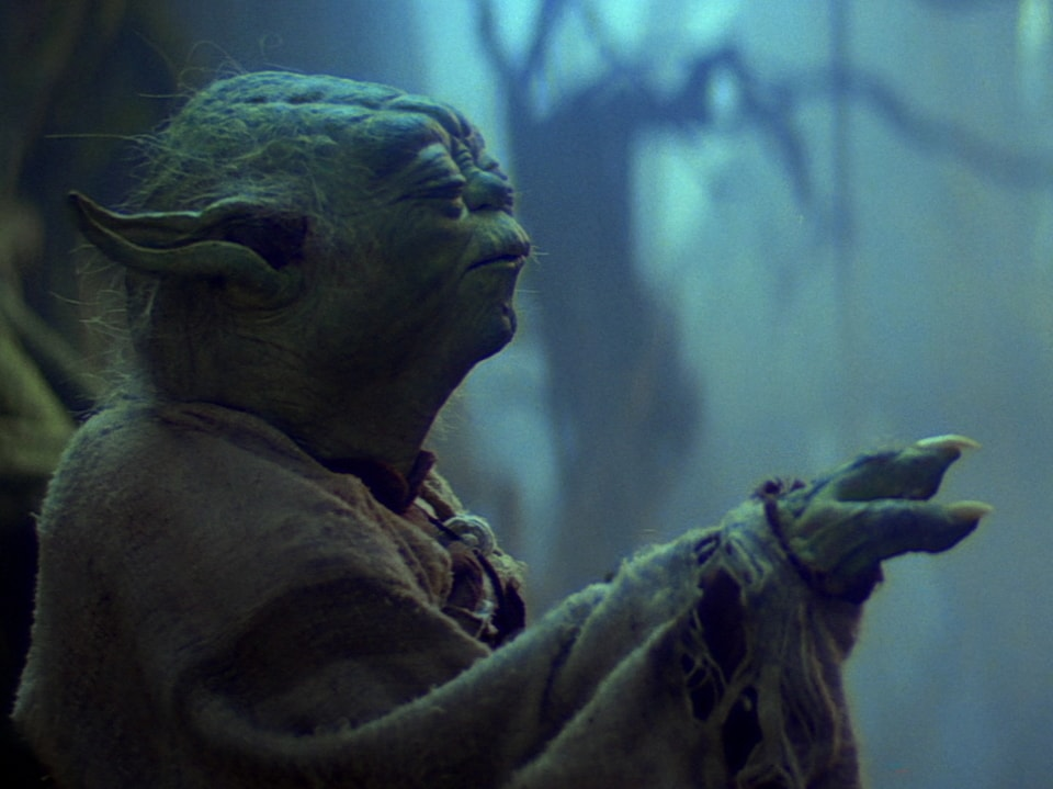 Image result for yoda dagobah