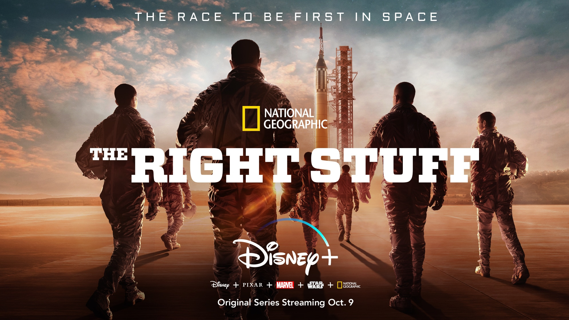"3…2…1...Blast Off!  ""The Right Stuff"" From National Geographic Lands On Disney+ With Two-Episode Premiere On October 9"