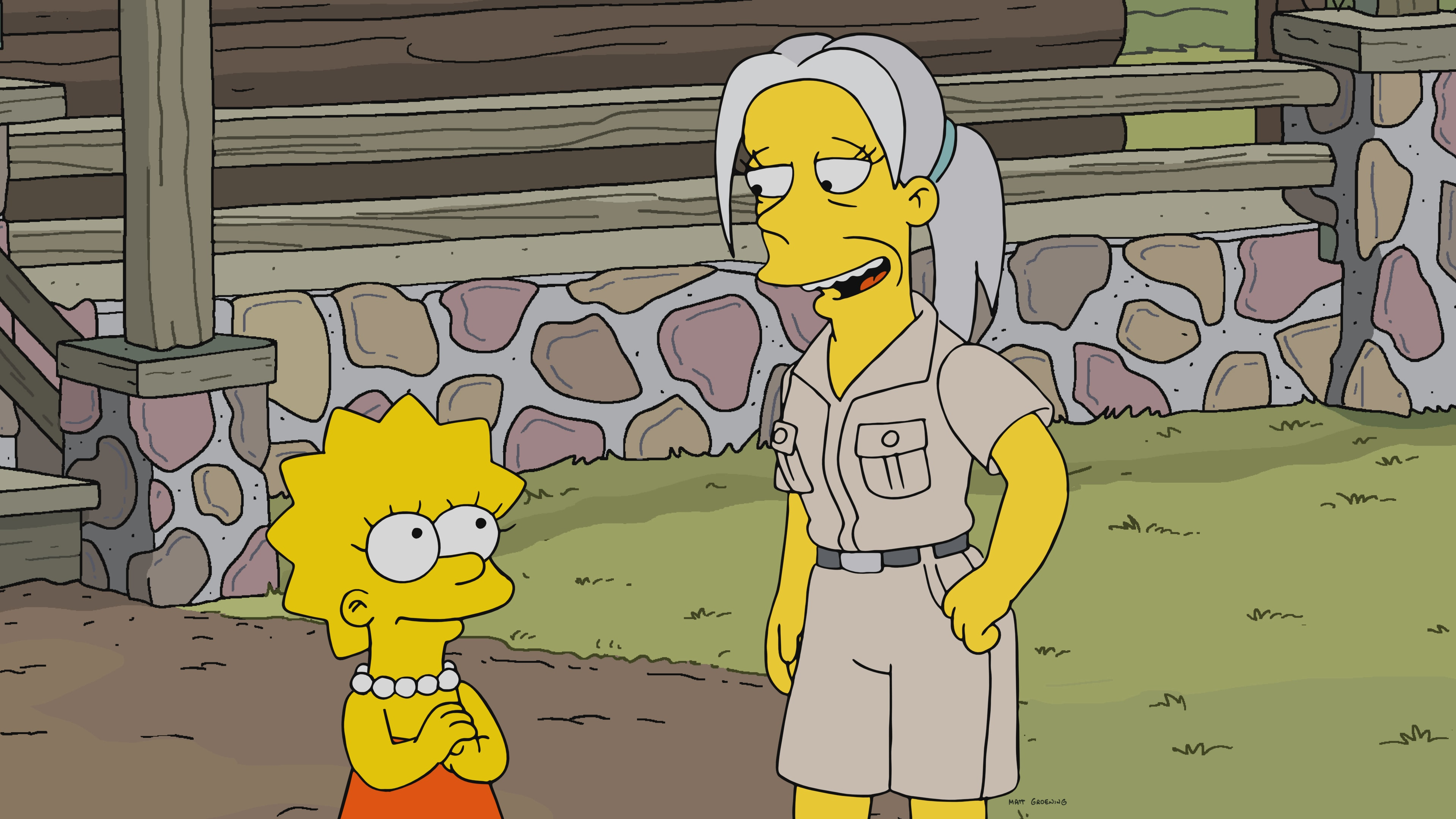 """THE SIMPSONS: After a trip to Aquatraz Water Park, Lisa becomes determined to set free Springfield's most vicious animals in captivity. Meanwhile, Homer fulfills a lifelong dream of buying a boat, and quickly realizes boat ownership sucks in the """"Gorillas on the Mast"""" episode of THE SIMPSONS."""