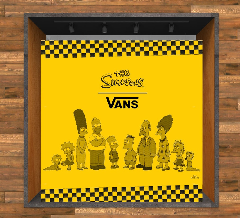 The Simpsons x Vans collection available soon