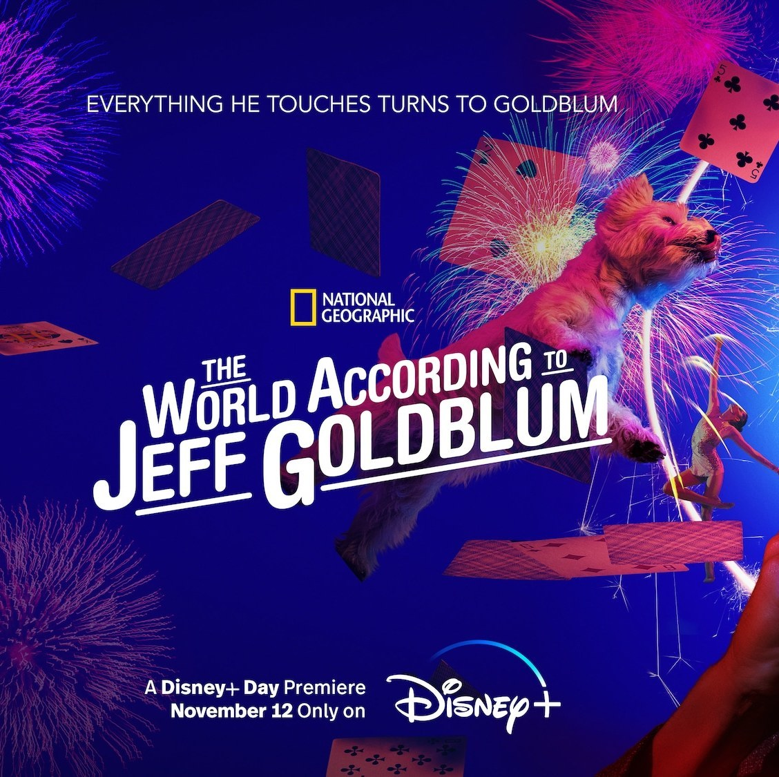 IN CELEBRATION OF JEFF GOLDBLUM'S BIRTHDAY, DISNEY+ RELEASES THE OFFICIAL TRAILER AND KEY ART FOR THE SECOND SEASON OF 'THE WORLD ACCORDING TO JEFF GOLDBLUM'