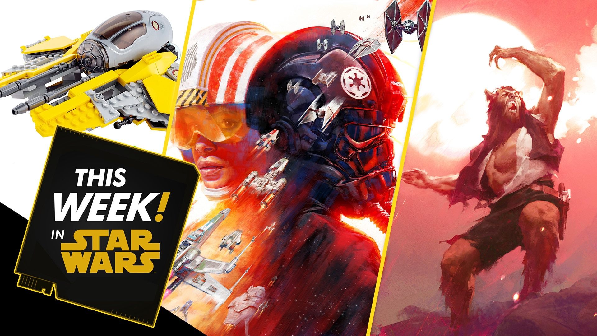 Star Wars: Squadrons Reports In, Brand New Star Wars LEGO Sets, and More!