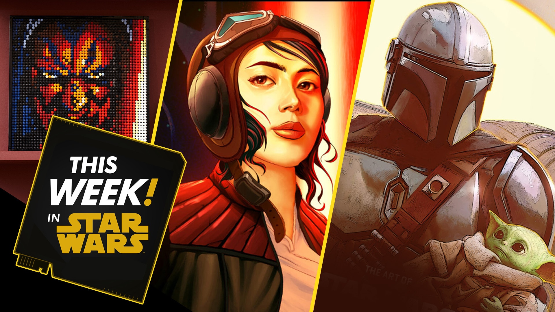 San Diego Comic-Con Exclusives, Brand New LEGO Art, and More!