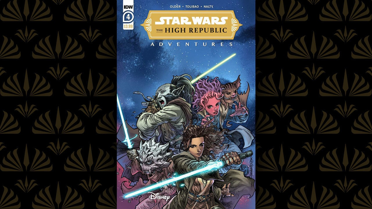 The High Republic Adventures #4 (IDW)   Now Available!