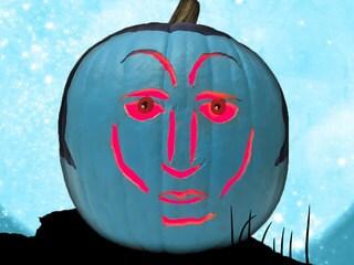 Grand Admiral Pumpkin: How to Make a Thrawn-O'-Lantern